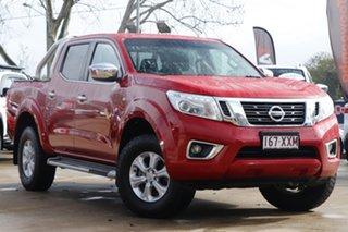 2017 Nissan Navara D23 S2 ST Red 6 Speed Manual Utility.