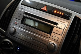 2013 Hyundai i20 PB MY13 Active Ember Grey 4 Speed Automatic Hatchback