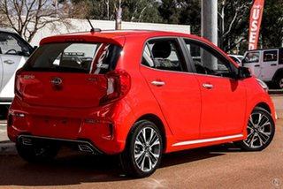2021 Kia Picanto JA MY21 GT-Line Red 4 Speed Automatic Hatchback.