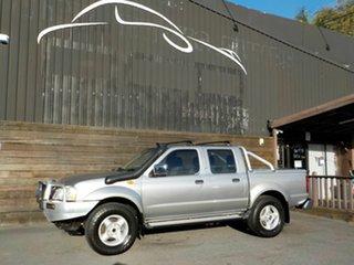 2004 Nissan Navara D22 MY2003 ST-R Silver 5 Speed Manual Utility.