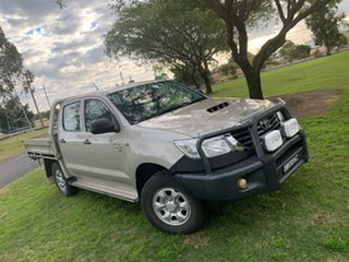 2013 Toyota Hilux KUN26R MY12 SR Double Cab Lustre 5 Speed Manual Cab Chassis.