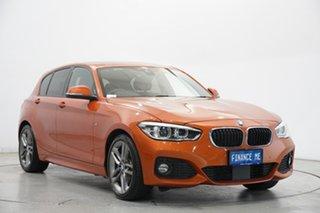 2016 BMW 1 Series F20 LCI 125i M Sport Orange 8 Speed Sports Automatic Hatchback.