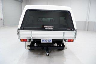 2015 Mazda BT-50 UR0YD1 XT 4x2 Hi-Rider White 6 Speed Sports Automatic Cab Chassis