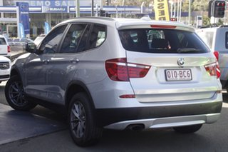 2011 BMW X3 F25 MY1011 xDrive20i Steptronic Silver 8 Speed Automatic Wagon.