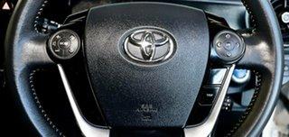 2018 Toyota Prius c NHP10R E-CVT White 1 Speed Constant Variable Hatchback Hybrid