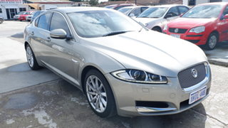 2013 Jaguar XF X250 MY13 Luxury Gold 8 Speed Sports Automatic Sedan.