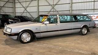 1987 Ford Falcon XF GL Silver 3 Speed Automatic Wagon.