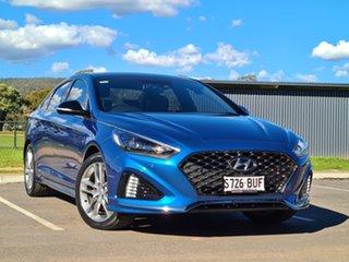 2017 Hyundai Sonata LF4 MY18 Premium Blue 8 Speed Sports Automatic Sedan.