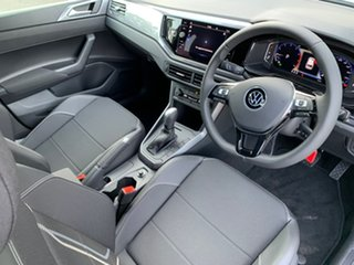 2021 Volkswagen Polo AW MY21 85TSI DSG Style Blue 7 Speed Sports Automatic Dual Clutch Hatchback