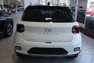 2021 Hyundai Venue QX.V3 MY21 Elite Polar White 6 Speed Automatic Wagon