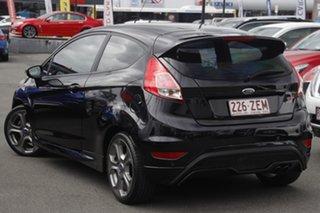 2015 Ford Fiesta WZ MY15 ST Black 6 Speed Manual Hatchback.