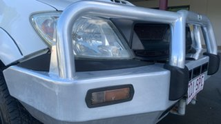 2009 Toyota Hilux KUN26R 09 Upgrade SR (4x4) White 5 Speed Manual Dual Cab Chassis