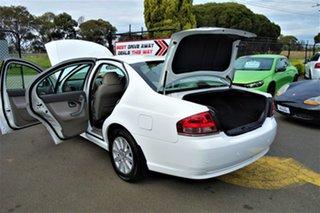 2007 Ford Fairmont BF Mk II White 4 Speed Sports Automatic Sedan