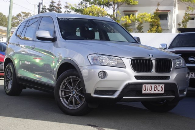 Used BMW X3 F25 MY1011 xDrive20i Steptronic Mount Gravatt, 2011 BMW X3 F25 MY1011 xDrive20i Steptronic Silver 8 Speed Automatic Wagon
