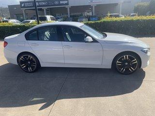 2013 BMW 3 Series F30 MY0413 316i White/310713 8 Speed Automatic Sedan.