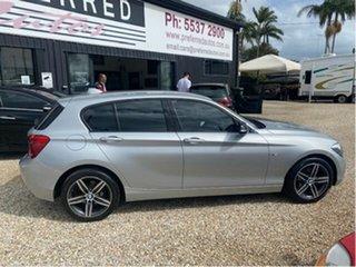 2013 BMW 116i F20 Sport Line Silver 8 Speed Automatic Hatchback.