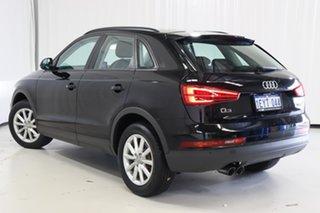 2016 Audi Q3 8U MY17 TFSI S Tronic Black 6 Speed Sports Automatic Dual Clutch Wagon.