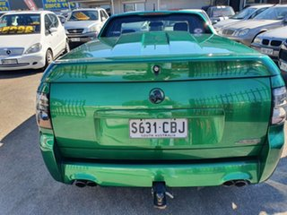 2010 Holden Ute VE II SS Green 6 Speed Manual Utility