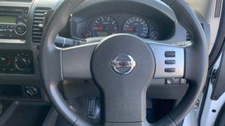 2012 Nissan Navara D40 MY12 RX (4x4) White 5 Speed Automatic Dual Cab Pick-up
