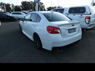 2019 Subaru WRX MY20 Premium (AWD) White Continuous Variable Sedan.