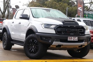 2019 Ford Ranger PX MkIII 2019.75MY Raptor White 10 Speed Sports Automatic Double Cab Pick Up.