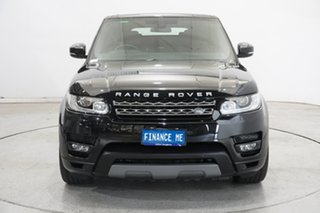 2016 Land Rover Range Rover Sport L494 16.5MY SE Black 8 Speed Sports Automatic Wagon.