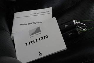 2018 Mitsubishi Triton MQ MY18 Exceed Double Cab Black 5 Speed Sports Automatic Utility