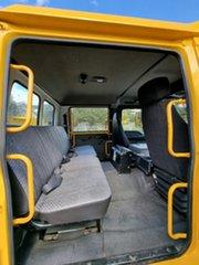 1999 Isuzu FTR 800 Dual Cab Yellow Firetruck