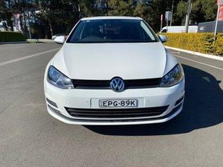 2015 Volkswagen Golf VII MY16 92TSI DSG Comfortline White 7 Speed Sports Automatic Dual Clutch.