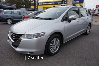 2010 Honda Odyssey 4th Gen MY10 Alabaster Silver 5 Speed Sports Automatic Wagon.