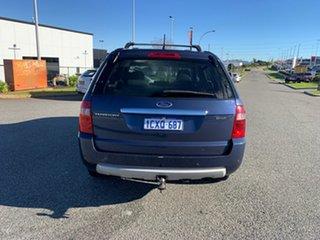 2008 Ford Territory SY MY07 Upgrade Ghia (4x4) Blue 6 Speed Auto Seq Sportshift Wagon