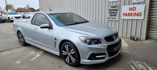 2015 Holden Ute VF MY15 SV6 Ute Storm Nitrate Silver 6 Speed Sports Automatic Utility.