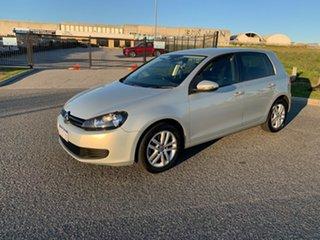 2010 Volkswagen Golf 1K MY10 90 TSI Trendline Silver 7 Speed Auto Direct Shift Wagon.