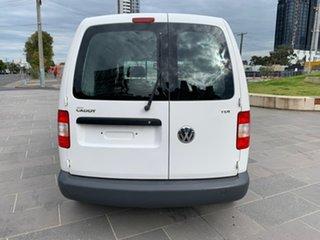 2010 Volkswagen Caddy 2KN SWB DSG White 6 Speed Sports Automatic Dual Clutch Van