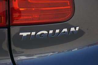 2012 Volkswagen Tiguan 5N MY12.5 132TSI Tiptronic 4MOTION Pacific Grey 6 Speed Sports Automatic