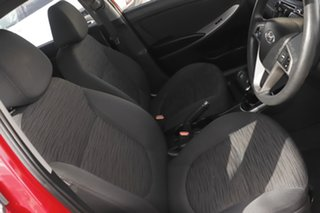 2015 Hyundai Accent RB3 MY16 Active Red 6 Speed Manual Hatchback