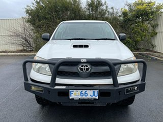 2007 Toyota Hilux KUN26R MY08 SR White 4 Speed Automatic Utility.