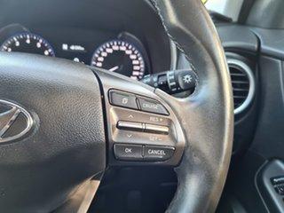 2017 Hyundai Kona OS MY18 Elite D-CT AWD Blue 7 Speed Sports Automatic Dual Clutch Wagon