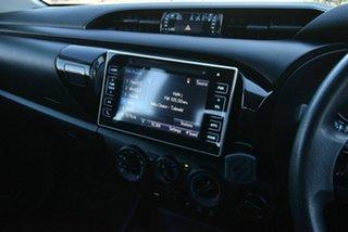 2018 Toyota Hilux GUN126R SR Double Cab Grey 6 Speed Sports Automatic Utility