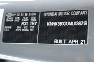 2021 Hyundai Kona Os.v4 MY21 electric Highlander Galactic Grey + Black Roo 1 Speed Reduction Gear