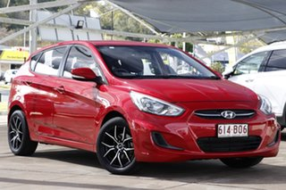 2015 Hyundai Accent RB3 MY16 Active Red 6 Speed Manual Hatchback.