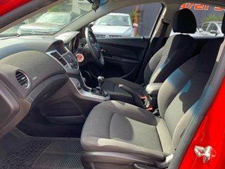 2011 Holden Cruze JH Series II MY11 CD Red 5 Speed Manual Sedan