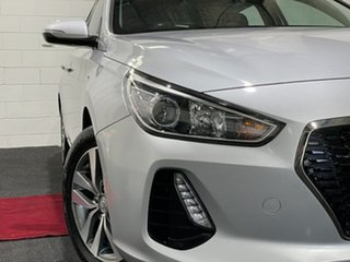 2018 Hyundai i30 PD2 MY19 Active Platinum Silver 6 Speed Sports Automatic Hatchback.