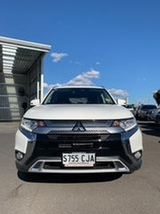 2020 Mitsubishi Outlander ZL MY20 LS AWD White 6 Speed Constant Variable Wagon.