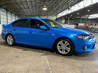 2010 Ford Falcon FG XR6 Blue 6 Speed Manual Sedan.