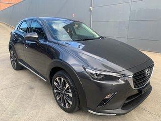 2021 Mazda CX-3 DK2W7A sTouring SKYACTIV-Drive FWD Machine Grey 6 Speed Sports Automatic Wagon.