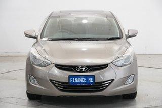 2012 Hyundai Elantra MD Premium Gold 6 Speed Sports Automatic Sedan.