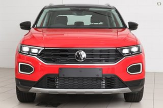2021 Volkswagen T-ROC A1 MY21 110TSI Style Red 8 Speed Sports Automatic Wagon.