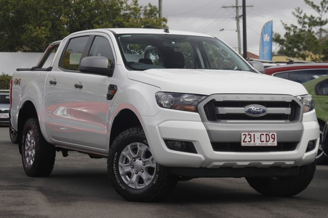 Used Ford Ranger PX MkII XLS Double Cab Mount Gravatt, 2016 Ford Ranger PX MkII XLS Double Cab White 6 Speed Sports Automatic Utility
