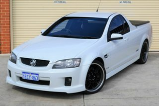 2010 Holden Ute VE II SS White 6 Speed Sports Automatic Utility.